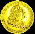Августодор - золотая монета - аверс