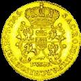 Августодор - золотая монета - реверс