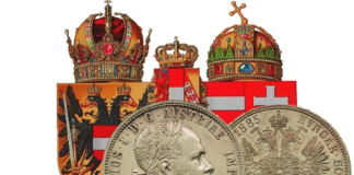 Австрия - Гульден (Флорин) 1885 года