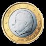 1 евро Бельгия 1999-2007