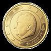 50 евроцентов Бельгия 1999-2007