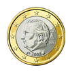 1 евро Бельгия 2008