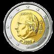 2 евро Бельгия 2 евро
