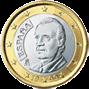1 евро Испания 1999-2009