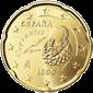 20 евроцентов Испания 1999-2009