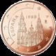 5 евроцентов Испания 1999-2009