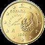 50 евроцентов Испания 1999-2009
