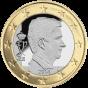 1 евро Бельгия 2014-20