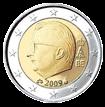 2 евро Бельгия 2009-2013