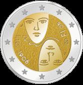 2 евро Финляндия 2006 год