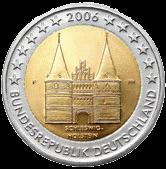 2 евро Германия 2006 год