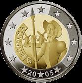 2 евро Испания 2005 год