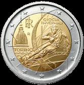 2 евро Италия 2006 год