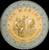 2 евро Сан-Марино 2005 год