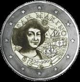 2 евро Сан-Марино 2006 год