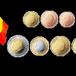 Монеты евро и евроценты Бельгия 1999-2007