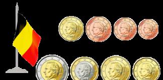 Монеты евро и евроценты Бельгия 2008
