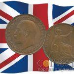Британский пенни продали на 72 000 фунтов