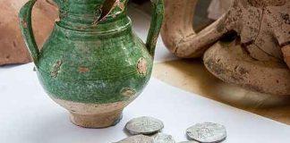 В Краснодарском крае нашли клад серебряных монет