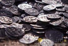 21 килограмм монет нашли в Москве