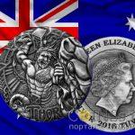 Тувалу – 2 доллара, Сражение Тора и змеи