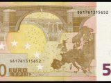 банкнота 50 евро 2002 года выпуска оборотная сторона