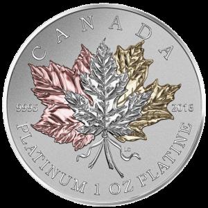Канада, 300 долларов, Кленовый Лист Навсегда аверс