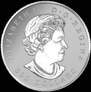 Канада, 300 долларов, Кленовый Лист Навсегда реверс