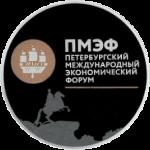 Россия - Памятная монета, 3 рубля, XX Петербургский международный экономический форум, аверс