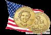 США монета 10 долларов Нэнси Рейган