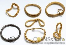 В Дании нашли клад золотых изделий весом 0,9 кг