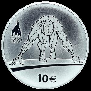 Эстония 10 евро 2016 - XXXI летние олимпийские игры в Рио-де-Жанейро аверс