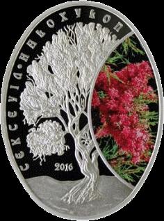 Казахстан монета 500 тенге Саксаул реверс