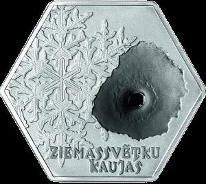 Латвия 5 евро Рождественские бои (Ziemassvētku kaujas) реверс