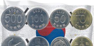 Монеты Южной Кореи скоро станут раритетами