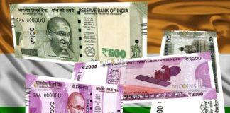В Индии банкноты крупных номиналов заменят