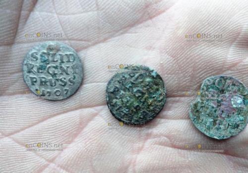 Земли Калининграда скрывают монеты прусских королей