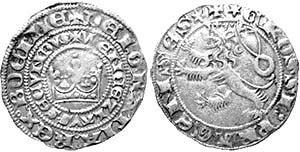 пражские гроши 1378-1419 годы