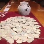 В Чехии нашли клад серебряных монет