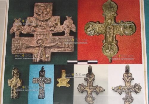 артефакты с Почтовой площади в Киеве