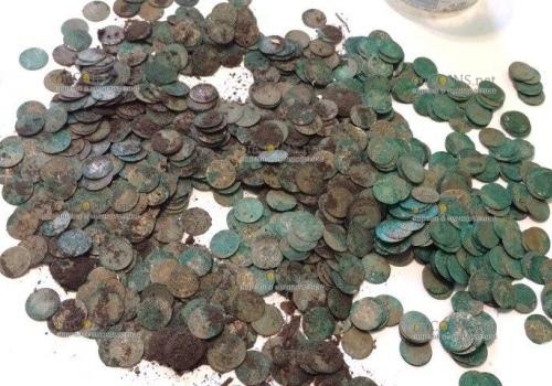 Клад польских монет XVII века нашли в Чернигове