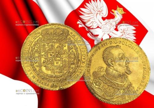 Польская монета 100 дукатов потянула за миллион долларов