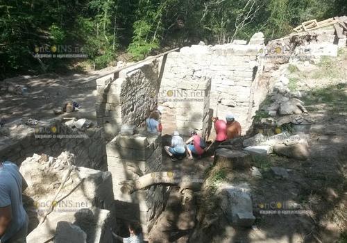 В Генуэзской крепости в Судаке идут реставрационные работы