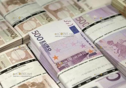Вся наличность евро