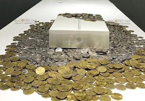 Житель Минска расплатился за iPad тремя мешками монет