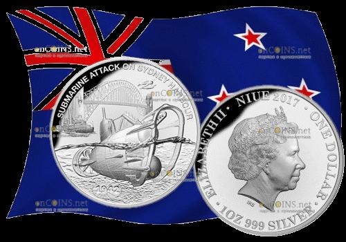 1 доллар Нападение на Сидней-Харбор