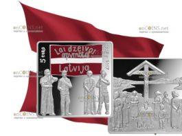 Латвия 5 евро Латгальский конгресс