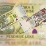 Албания новые банкноты в 200 и 5000 лек