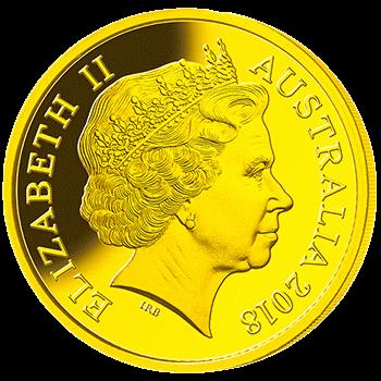 Австралия 25 долларов Чемпионат Мира по футболу в России 2018, золото, аверс