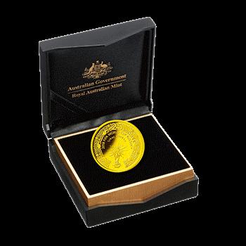 Австралия 25 долларов Чемпионат Мира по футболу в России 2018, золото, упаковка